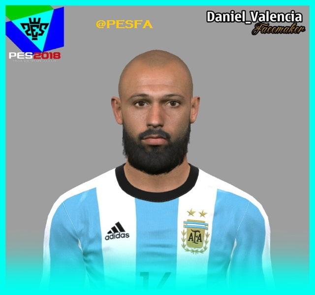فیس جدید Mascherano توسط Daniel برای PES 2017