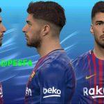 فیس جدید Luis Suarez توسط Huseyn برای PES 2017