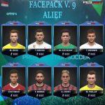 فیس پک ورژن 9 توسط Alief برای PES 2017