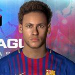مدل مو جدید و تتو Neymar برای PES 2017