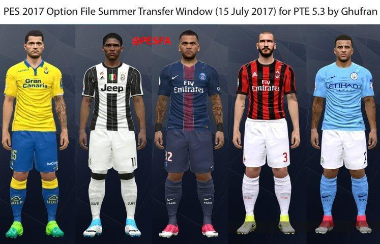 آپشن فایل نقل و انتقالات تابستانی تا 24 تیر برای PTE 5.3