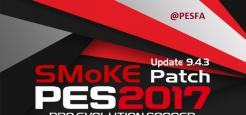 آپدیت پچ SMoKE 9.4.3 برای PES 2017