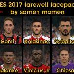 فیس پک Farewell توسط Sameh Momen برای PES 2017