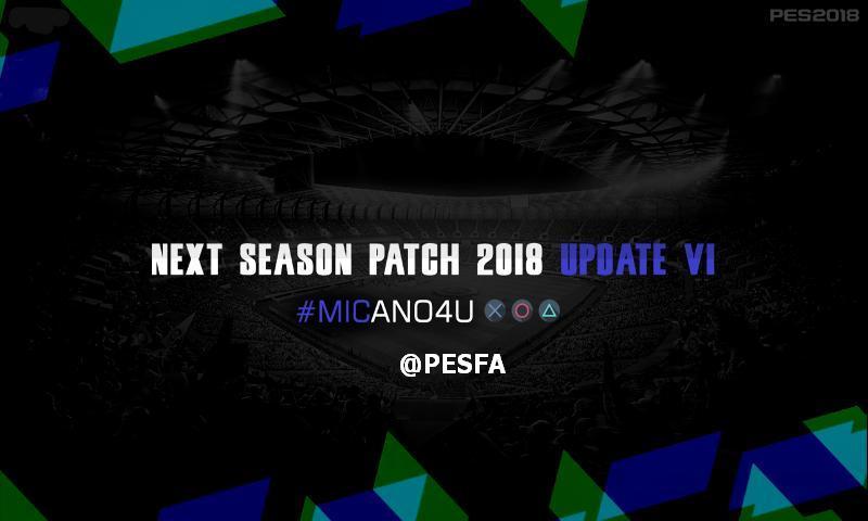 آپدیت 1 پچ Next Season 2017/2018 برای PES 2013