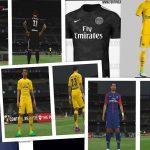 کیت پک PSG , Chelsea , Inter 2018 برای PES 2017