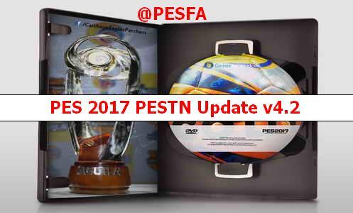 آپدیت پچ PESTN v4.2 برای PES 2017