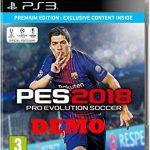 دانلود دمو PES 2018 برای PS3