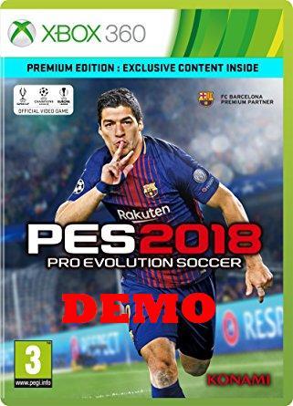 دانلود دمو PES 2018 برای Xbox360