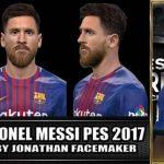 دو فیس جدید Messi توسط Robert و Jonathan برای PES 2017