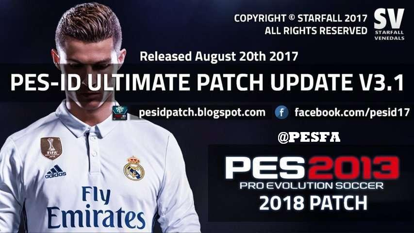 پچ PES-ID Ultimate v3.0 AIO برای PES 2013 + آپدیت 3.1