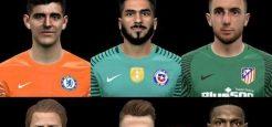 فیس پک Goalkeepers توسط Jonathan برای PES 2017