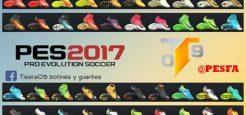 پک کفش ورژن 4 توسط Tisera09 برای PES 2017