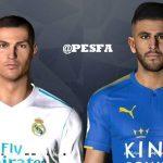 فیس Mahrez و Ronaldo توسط Shenawy برای PES 2017
