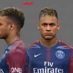 فیس جدید Neymar توسط A.Hamdy برای PES 2017