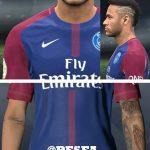 مدل مو جدید + تتو Neymar توسط Abdo Mohamed برای PES 2017