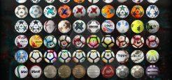 پک توپ 70 تایی فصل 18-2017 برای PES 2013