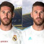 فیس پک جدید Ramos همراه با تتو گردن برای PES 2017
