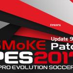 آپدیت پچ SMoKE 9.4.5 برای PES 2017