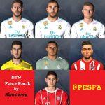 فیس پک جدید توسط Shenawy برای PES 2017