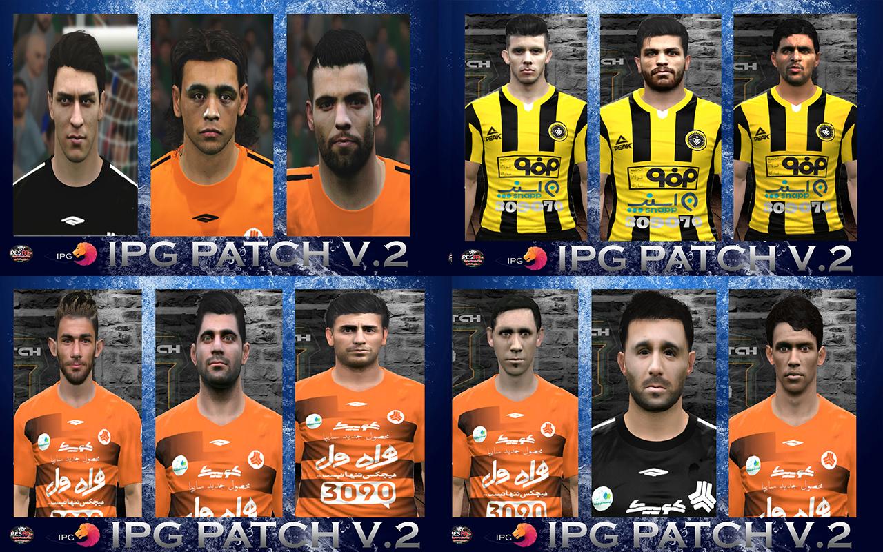 یک راهکار برای بهبود کیفیت بازی های لیگ برتر پچ لیگ برتر ایران IPG v2.0 برای PES 2017