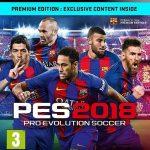 دانلود نسخه کامل PES 2018 با لینک مستقیم برای PS3