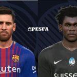 فیس جدید Messi و Kessie توسط Ugly Thing برای PES 2017