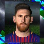 فیس جدید Messi توسط pradeep برای PES 2017
