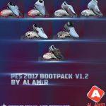 پک کفش ورژن 1.2 توسط AL AMiR برای PES 2017