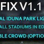 استادیوم پک + گرافیک PS4 توسط Estarlen Silva برای PES 2017 (نسخه 1.1 اضافه شد)