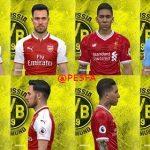 فیس پک Premier League توسط Jefferson برای PES 2017