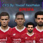 مینی فیس پک CFS توسط Youssef برای PES 2017