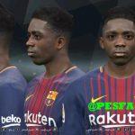 فیس جدید Ousmane Dembélé توسط Youssef برای PES 2017