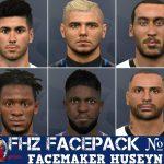 فیس پک FHZ ورژن 8 توسط Huseyn برای PES 2017