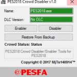 ابزار حذف تماشاچی v1.0 توسط MjTs برای PES 2018