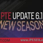 آپدیت پچ PTE v6.1 برای PES 2017