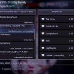 موزیک منو PES 2018 برای PES 2013