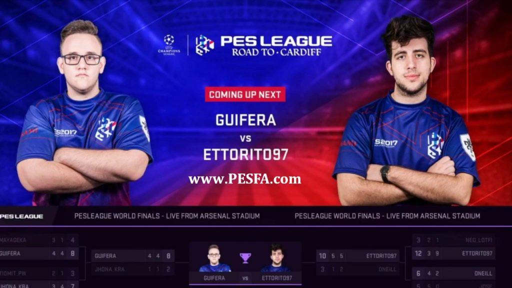 دانلود ویدیو فینال مسابقات جهانی PES League
