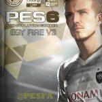 پچ EgyFire v3 فصل 2017/18 برای PES 6