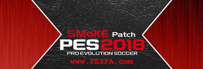 پچ SMoKE X v10.1 برای PES 2018