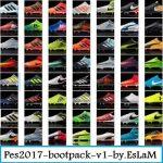 پک کفش v1 توسط EsLaM برای PES 2017