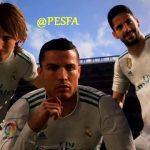 فیلم ورودی FIFA 18 برای PES 2013