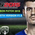 پچ Next Season 2017/18 برای PES 2015 ( بتا v1.0 )