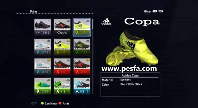 پک کفش v2.0 HD توسط CeronPrince برای PES 2013