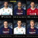 فیس پک Legends برای PES 2017