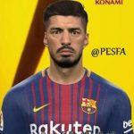 فیس جدید Suárez توسط Youssef برای PES 2017