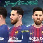 فیس جدید Messi توسط Youssef برای PES 2017