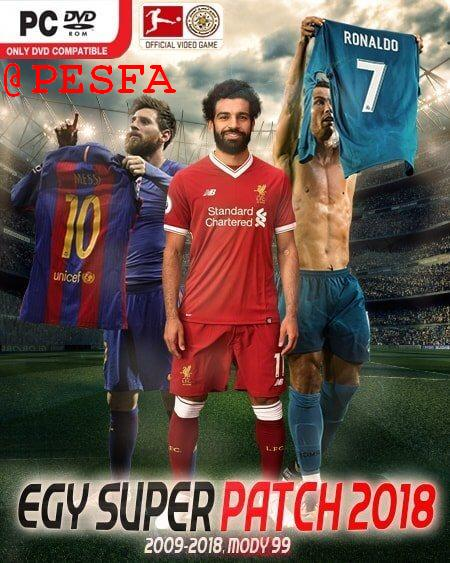 پچ EGY Super Patch v1.0 برای PES 2018