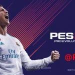 منو گرافیکی FIFA 18 توسط Ginda01 برای PES 2018