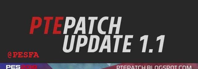 پچ PTE v1.0 برای PES 2018 (آپدیت 1.1 اضافه شد)