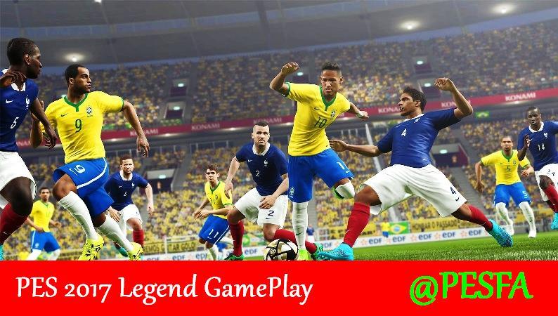 گیم پلی سطح Legend توسط RFA برای PES 2017